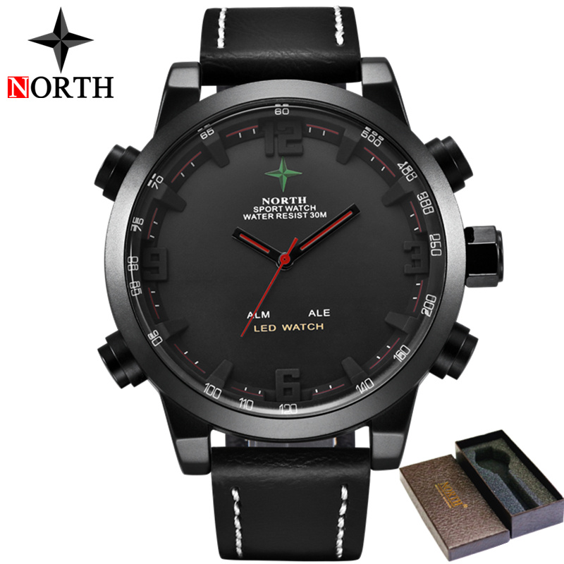 Analog Quartz Leather Digital LED Sports Military Watches