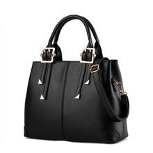купить Brand Boston Women Bag Vintage Shoulder Bags Women Handbags Designer PU Leather Bags Ladies 2017 New fashion по цене 2837.12 рублей