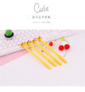 Image 5 - 36 PCs Korea creative cartoon gel pen cute pocket pen student stationery
