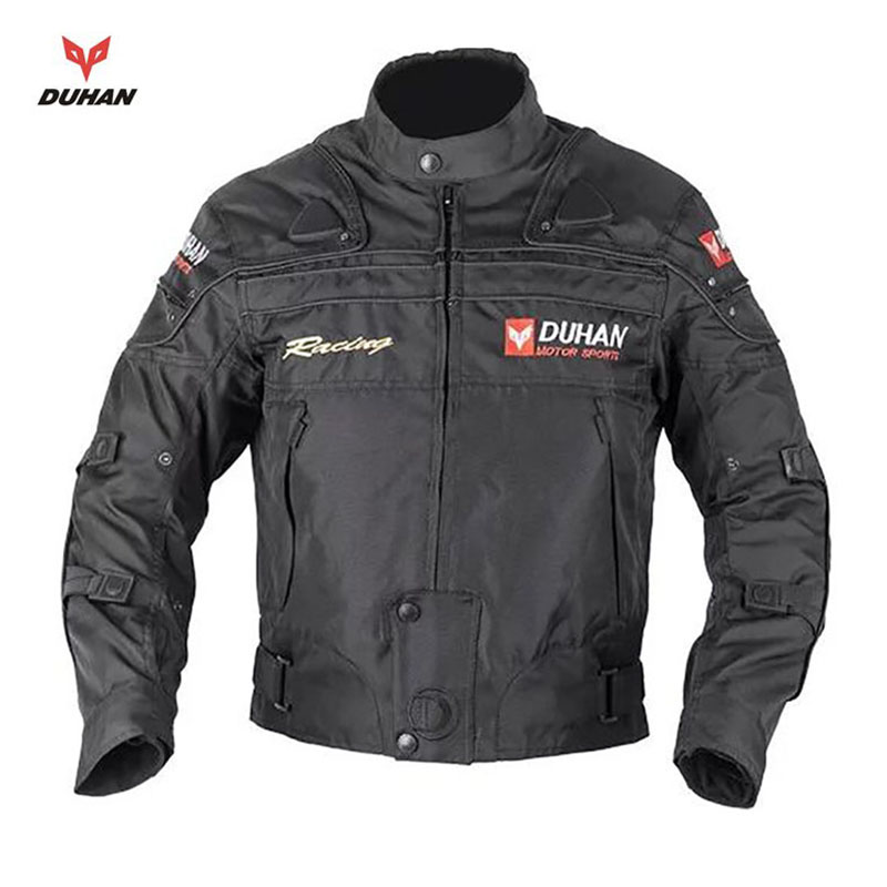 Brand DUHAN Motorcycle jackets Armor Protective Clothing Dirt Bike Riding Jersey Cotton Liner Protective Gear Motocross