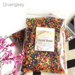 12000 stücke/paket orbeez weichen kristall wasser paintball gun kugel wachsen wasser perlen wachsen bälle wasserpistole spielzeug schießen