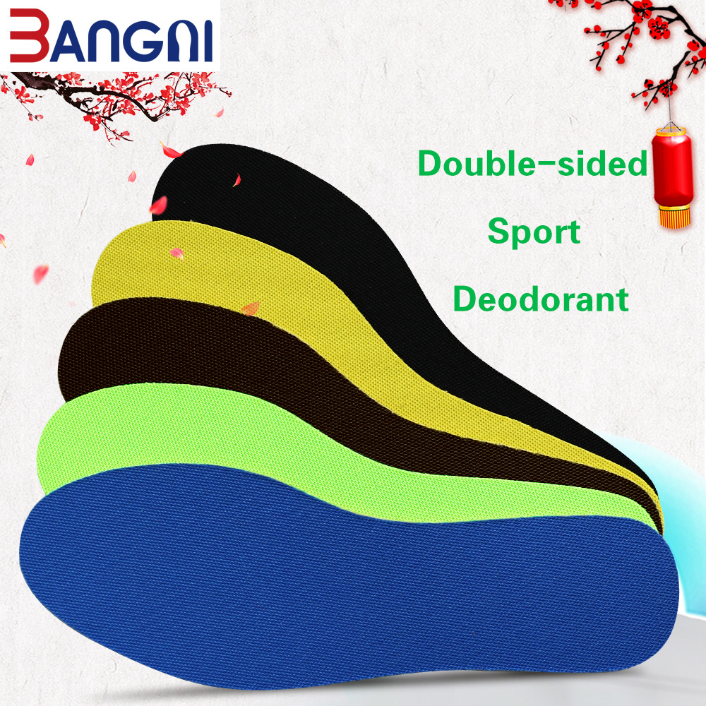 3ANGNI Footmaster Deodorization Sport Insoles  Soft Breathable C Insoles  For Men Women Shoes F001 shanghai kuaiqin kq 5 multifunctional shoes dryer w deodorization sterilization drying warmth