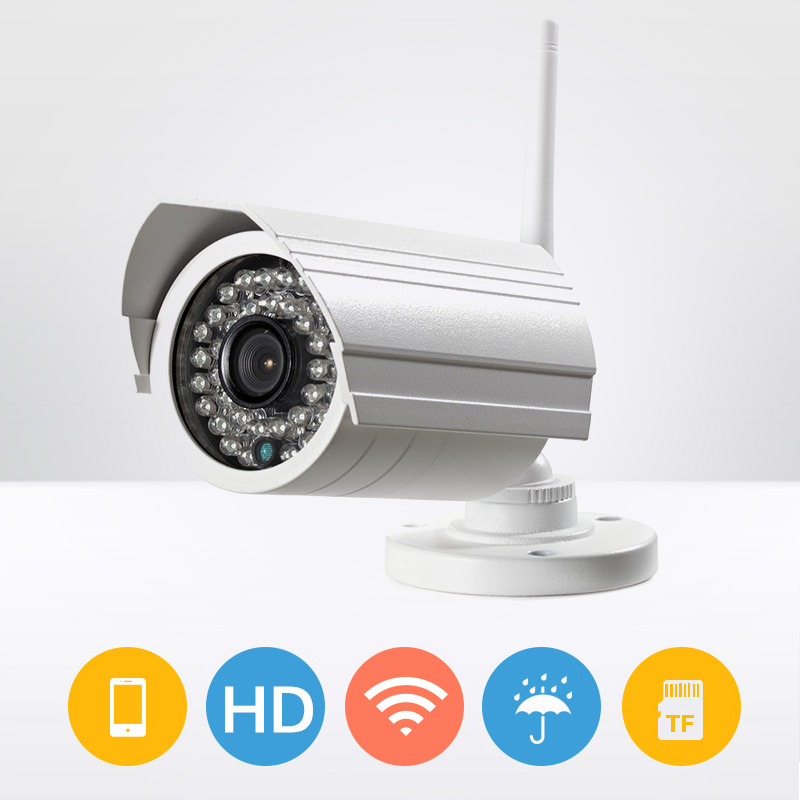 720P HD Outdoor Wireless WIFI IP Camera IR Night Vision Home Security Waterproof