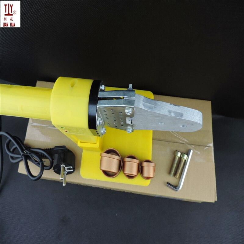JIANHUA портативный 20-32 мм автоматический сварочный аппарат для нагрева пластика переменного тока 220/110 в 600 Вт Пластиковые PPR трубы сварки, машина горячего расплава