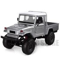 2,4 г 4X4 колеса 1/12 Масштаб RC Автомобиль Дистанционное управление грузовик игрушки MN-45 WPL FJ45 RTR версия машина пикап