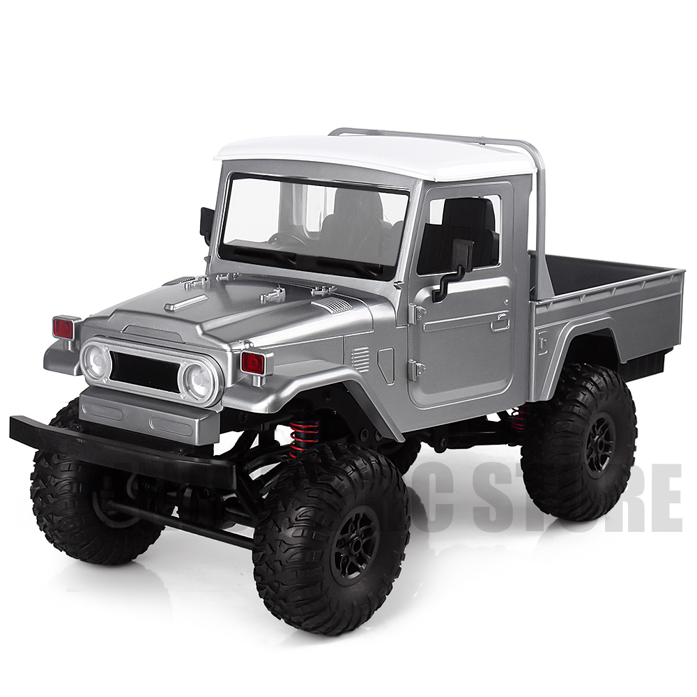 2.4G 4X4 Wheel 1/12 Scale RC Car Remote Control Truck Toys MN 45 WPL FJ45 RTR Version Pickup Car-in RC Cars from Toys & Hobbies    1