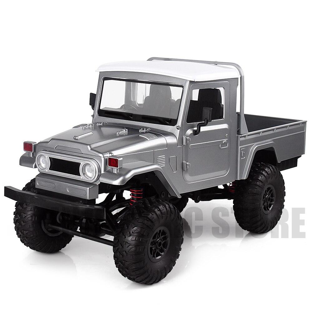 2.4G 4X4 roue 1/12 échelle RC voiture télécommande camion jouets MN-45 WPL FJ45 RTR Version voiture de ramassage