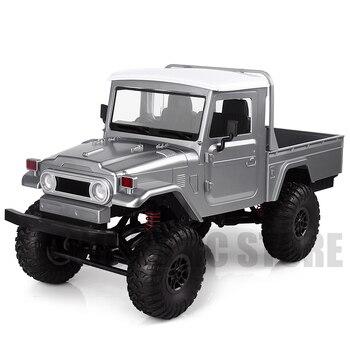 2.4g 4x4 roda 1/12 escala rc carro caminhão de controle remoto brinquedos MN-45 wpl fj45 rtr versão captador carro