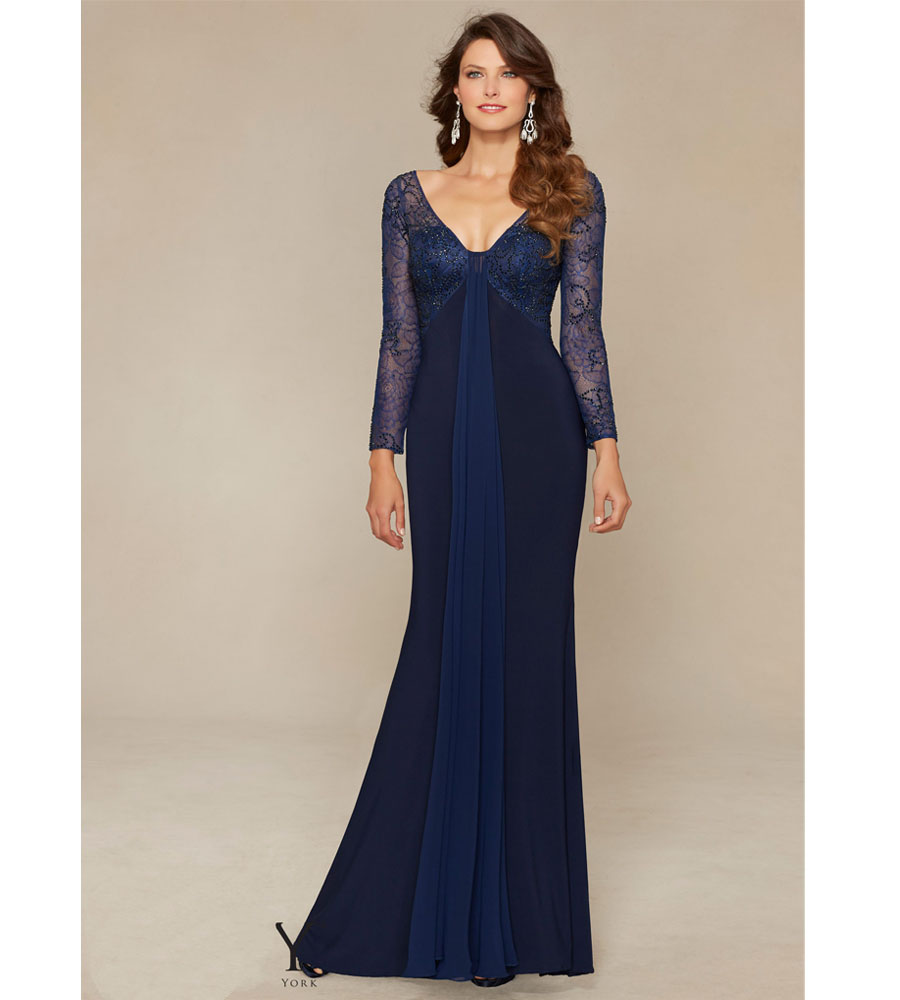 Popular Empire Waist Evening Gowns with Sleeves-Buy Cheap Empire ...