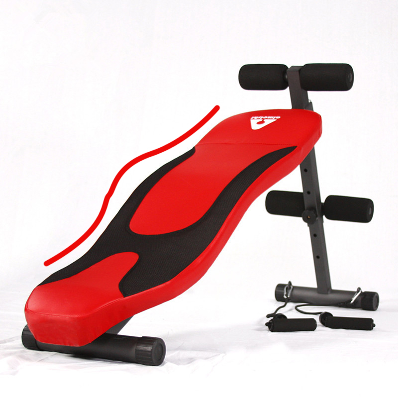 Sit Up Bench Adjustable Foldable Abdominal Decline Bench Slant Board/Abs Workout Equipme ...