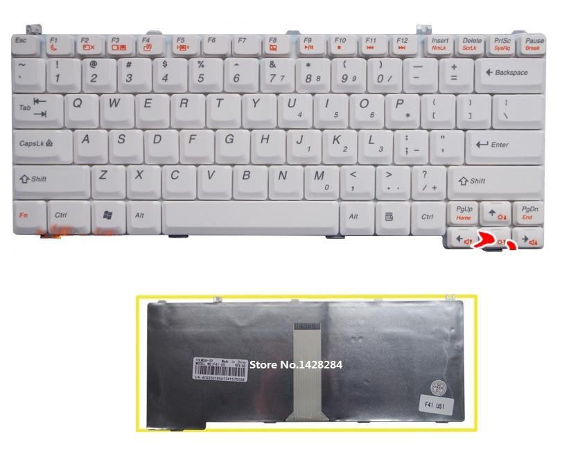 laptop US Keyboard white For Lenovo F41 F41A F41G F31G Y510A G430 G450 C460 C466 Y330 Y430