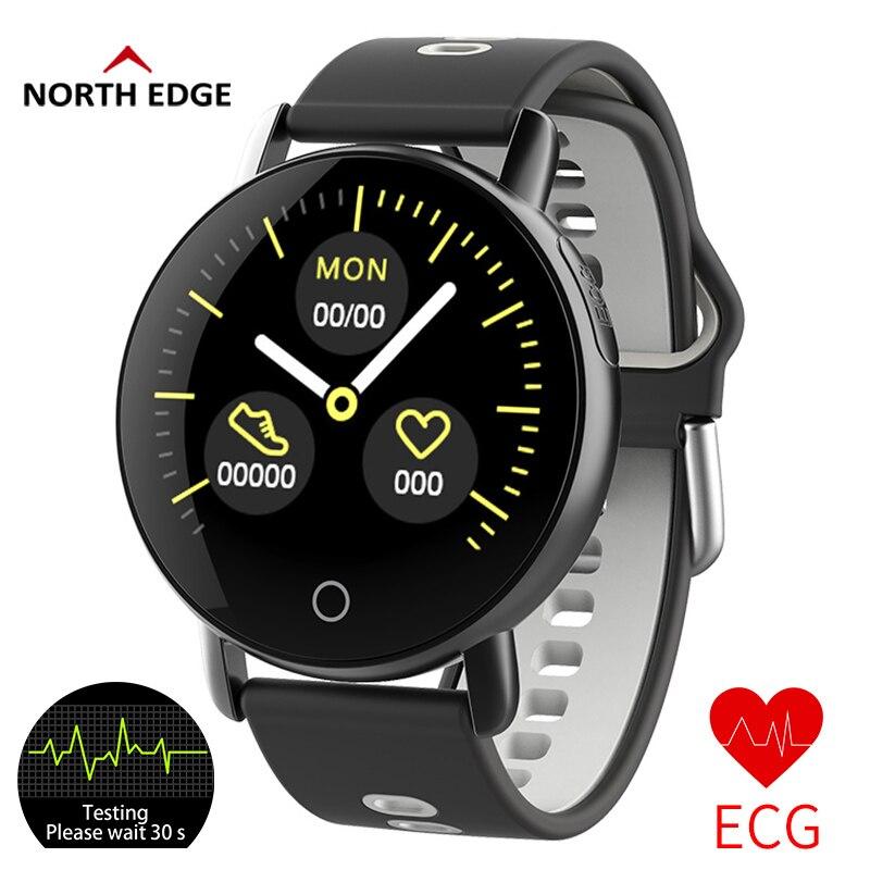 Box Herrenuhren Digitale Uhren Bangwei Neue Männer Frauen Smart Uhr Männer Ekg Echt-zeit Minitor Dynamische Herz Rate Ip67 Sport Fitness Uhr Unterstützung Usb-ladung