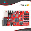 ZH-E1 Rede + USB + Porta Serial 1024*48 Pixels LEVARAM Cartão de Controle de LED Painel de LED Movendo Texto a Placa do Sinal mensagem