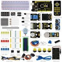 Keyestudio Advanced Starter Learning Kit For Arduino Education Project with MEGA 2560R3 1602 LCD+PDF(online)