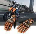 Топ Guantes Перчатки Мода Перчатки Мотоцикла Вождения Велосипедов Полный Finger Черный moto Мужчины Защитный Gears Гонки Мотокросс Перчатки
