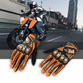 Top Guantes Glove Fashion Motorcycle Gloves Driving Bicycle Full Finger Black moto Men Protective Gears Racing Motocross Glove