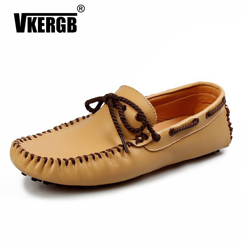 Men Leather Shoes Brand Mens Fashion Driving Moccasins Business Summer Casual Luxury Genuine