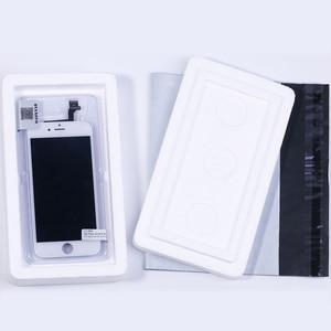 Image 5 - Aaa assembléia completa display para iphone 5 5c 5S se lcd tela de toque digitador substituição pantalla + botão casa câmera frontal