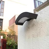 Milan LED porch light 1 pcs LED indoor & outdoor wall light waterproof Wall lamp Cafe Bar garden lamp lighting Free shipping
