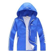 Лето мужская высокое качество Корейской версии куртка с капюшоном куртки мужчины досуг тонкий пальто молния куртка новая мода 5XL. 6XL