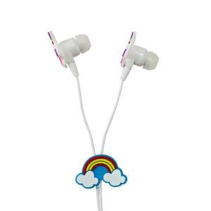 Image 4 - Qearfun Kleurrijke Eenhoorn Bedrade Hoofdtelefoon Kinderen Muziek Stereo Oordopjes 3.5 Mm Koptelefoon Voor Sony Samsung Kerstcadeau Oortelefoon