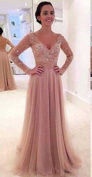 High Quality Long Sleeve Detachable Prom Dress-Buy Cheap Long ...