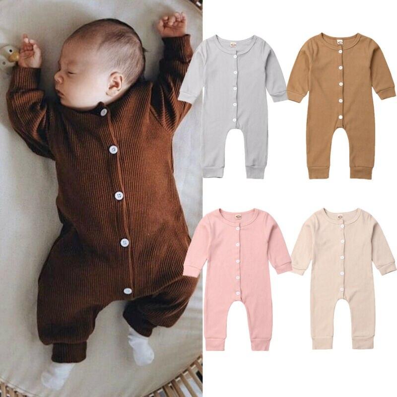 CANIS-vêtements d'automne pour bébés | Tenue pour nouveaux-nés enfants fille garçon manches longues, combinaison body