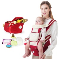 Baby Carrier &Backpacks Infant Baby Hipseat Carrier Front Facing Ergonomic Kangaroo Baby Wrap Sling for Baby Travel 0 48M