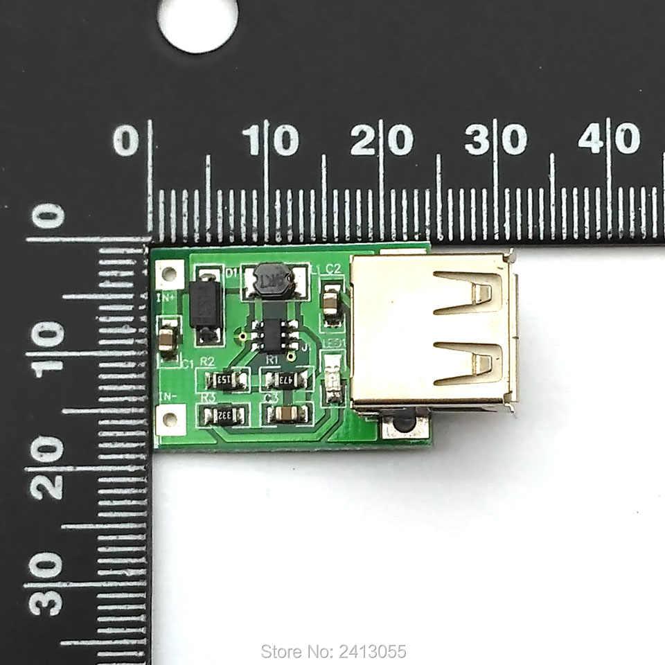 DC DC Step Up Converter 0.9V ~ 5V a 5V 600MA Amplificatore di Potenza Modulo di Alimentazione Mini DC convertitore USB del Caricatore di Uscita MP3 Circuito
