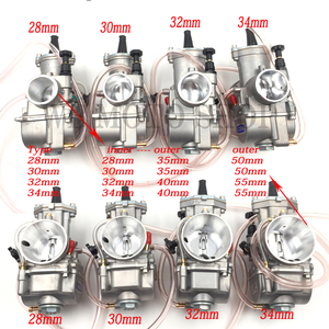 Image 2 - JINGBIN PWK28 pwk 28 30 32 34 mm Carburetor Motorcycle ATV Buggy Quad Go Kart Dirt Bike jet boat fit 2T 4T JOG DIO