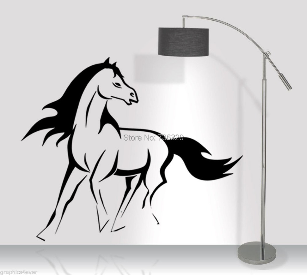 Running Horse DECAL -LARGE 24