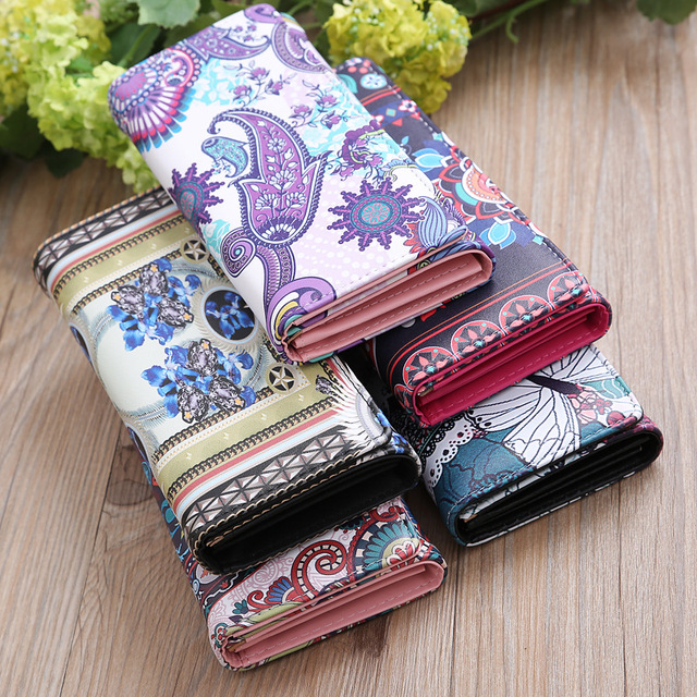 2018 luxury brand famous womens wallets and purses Organizer Cash long wallet female Travel card houlder Cellphone Clutch Pocket