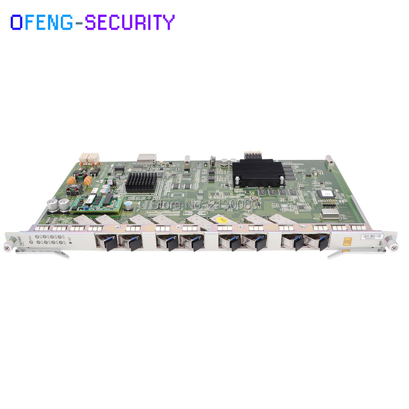 ZTE GTGO OLT Board 8 ports GPON board GTGO with 8 C+ SFP OLT board for C300 C320 OLT