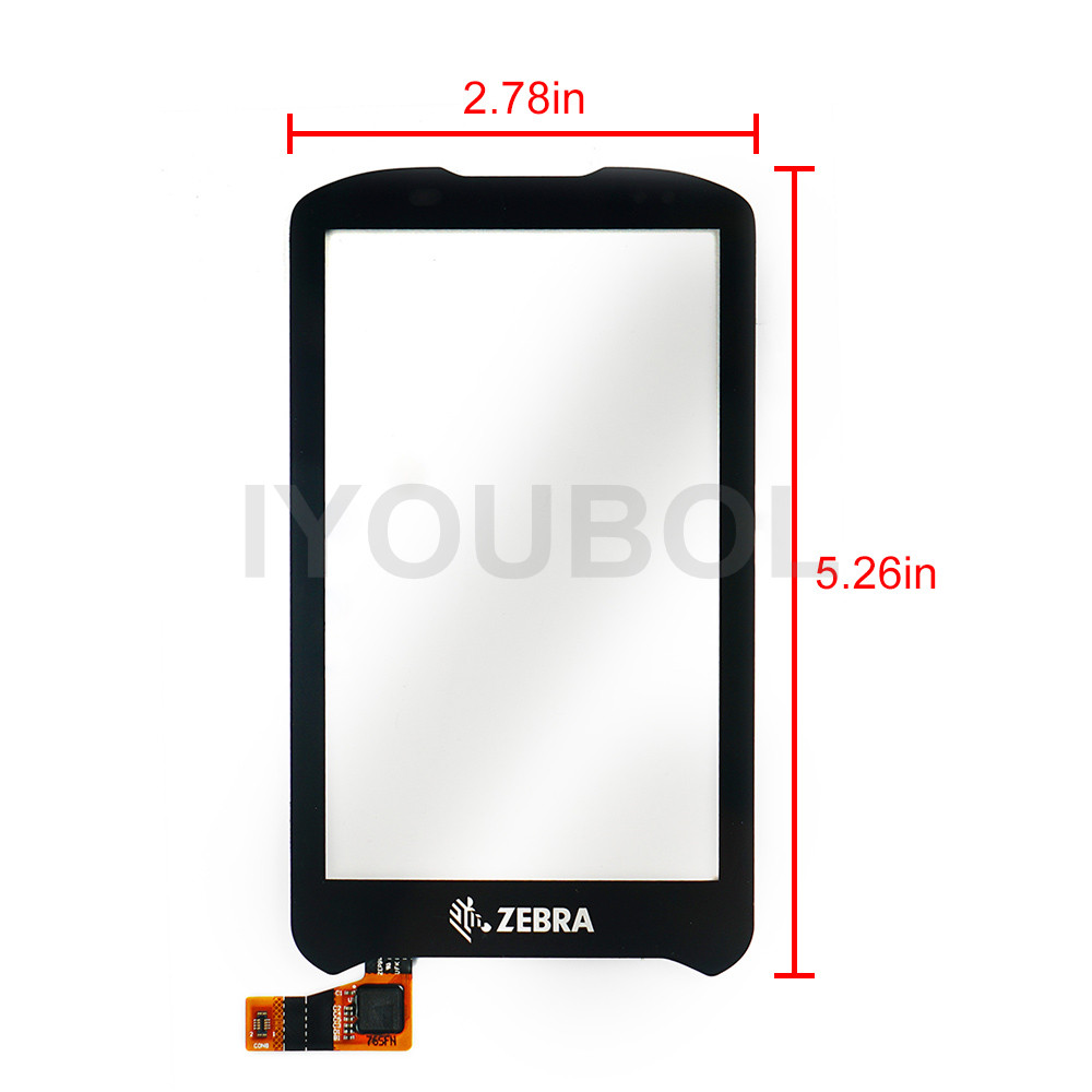 New Touch Screen Digitizer for Motorola Symbol zebra TC70 TC75 Touch Panel Digitizer glass lens pane LCD Modules