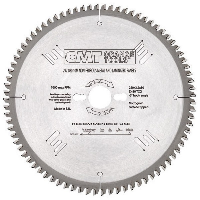 CMT 297.108.14M circular saw blade 350x3.2x30 Z 108 TCG 6 grees silent|Power Tool Sets| |  - title=