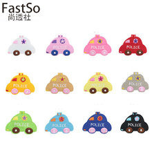 FastSo 1 Pcs Applique Cloth Patches for Clothing DIY Cartoon Car Child Baby Sweater Cloth Embroidery Iron on Skirt Jacket Kids(China)