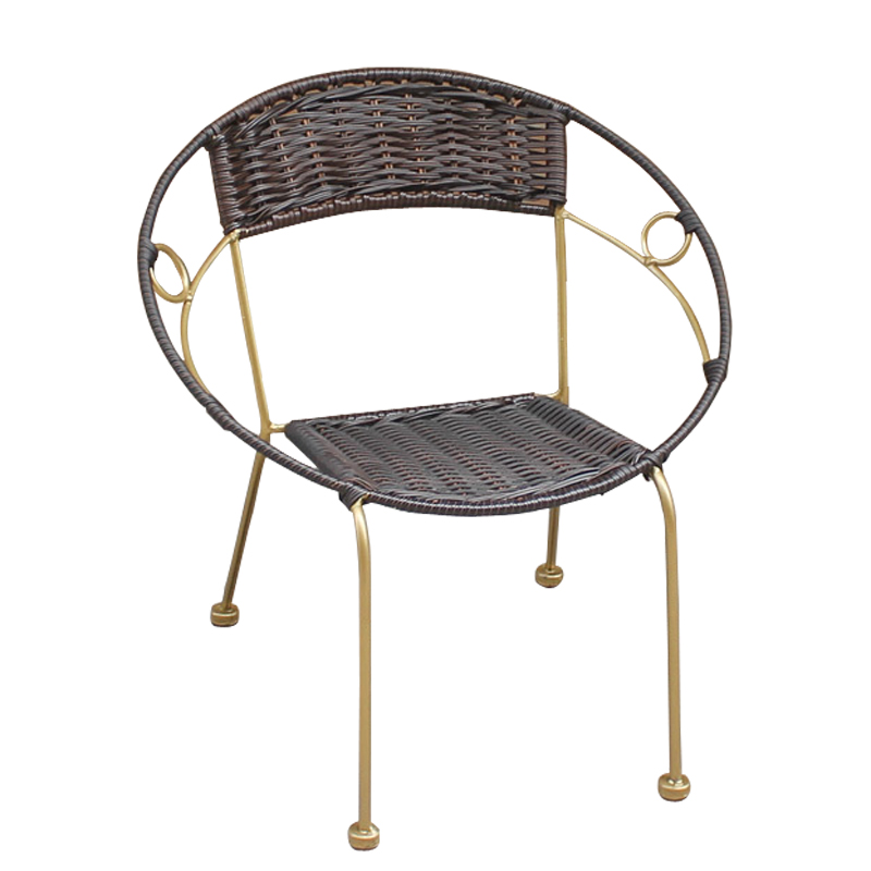 Leewince Furniture Rattan Indoor Outdoor Restaurant Stack Small ...