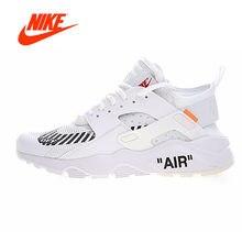 4d8b6410282f5 Authentique Off Blanc X Nike Air Huarache Ultra ID Hommes Chaussures de  course D origine Nouvelle Arrivée Sneakers pour Hommes d.