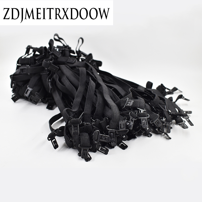 New 2017 Bow Ties For Men Tie Adjustment Rope Adjust The Belt 50 Pcs Maximum Length Adjust About 45CM Elastic Band