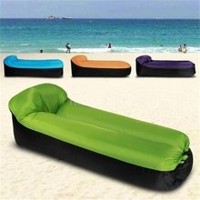 Compact Size Outdoor Camping Travel Outdoor Inflatable Stool Sofa Portable Travel Pouf Chair With Pillow цена