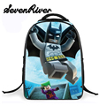 Elementary Batman School Backpack For Kids Children Cartoon Star War School Bag For Boys Girls Bookbags