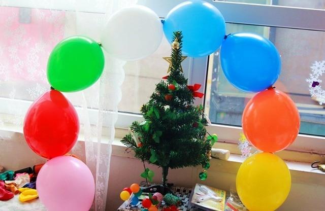 50 Teile Los 6 Zoll Schwanz Balloons Multicolor Hochzeit Birthday Party Supplies Ehe Zimmer Dekoration