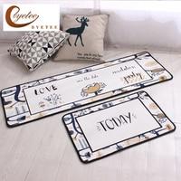 {byetee} Kitchen Hot Selling Mats Door Bathroom Carpet Absorbent Slip resistant Doormats Modern Kitchen Mat
