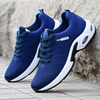Men Sneakers Breathable Sport Running Shoes Air Cushion Mesh Outdoor Walking Shoes Male Fitness shoes Non-Slip Trainers Size 44
