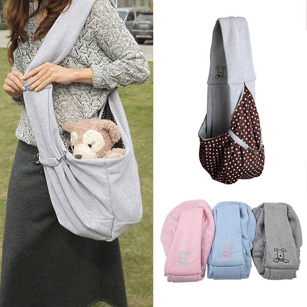 Multifunctional Pet Dog Shoulder Bag Reversible Magic Bag For Puppy Small Dog Cat Carrier Tote TB