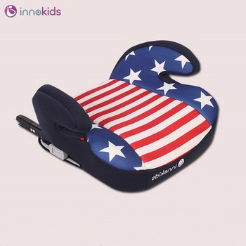 Innokids car child safety seat heightening pad 3-12 years old baby car seat ISOFIX interface breathable fabric