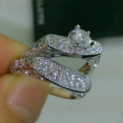 Size 6 10 Choucong Fashion font b jewelry b font font b Luxury b font 10kt