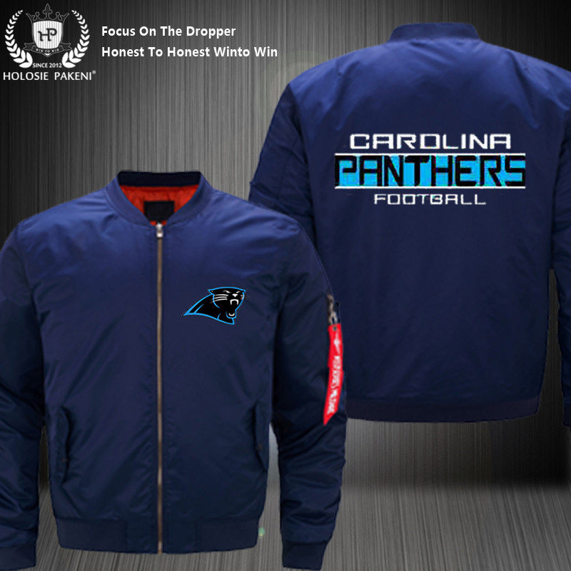new product ab993 ef603 Dropshipping USA Size MA 1 Jacket Football Team Carolina ...