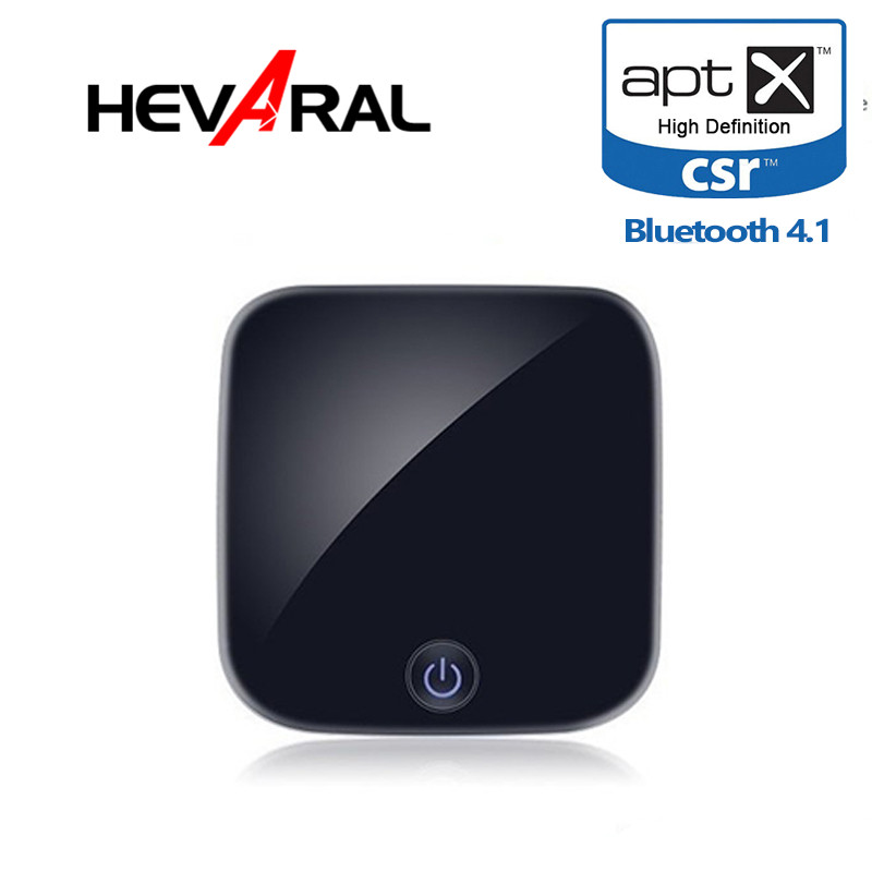 Hevaral Bluetooth Transmitter Receiver APTX ACC Wireless Audio Adapter Optical Toslink/SPDIF/3.5mm Stereo Output Support SBC RX
