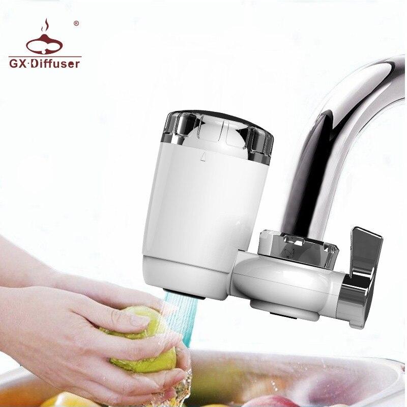 GX. diffuseur MiNi filtre à eau du robinet purificateur d'eau potable du robinet filtre à eau de cuisine purificateur Mini Purification de l'eau